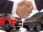 Suzuki Toyota Tie Up Sell Each Other S Cars India