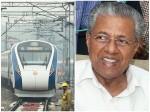 High Speed Train On Anvil From Thiruvananthapuram To Kasargod