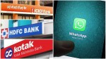 Lockdown These Banks Provide Whatsapp Banking Services