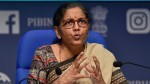 Finance Minister Nirmala Sitharaman Says Economy Is On The Path To Recovery