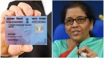 Fm Nirmala Sitharaman Launches Scheme For Instant Allotment Of Pan