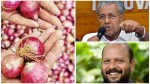 Kerala Government Intervention In Onion Price Hike Will Sell Rs 45 Per Kilogram Through Horticorp