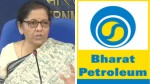 Vedanta Submitted Expression Of Interest To Buy Entire Stake In Bpcl