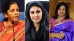 Forbes 100 Most Powerful Women Nirmala Sitharaman Roshni Nadar Kiran Mazumdar Shaw Are In The List