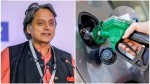 Shashi Tharoor Says If The Tax Levy For Petrol Remain Same As Upa Petrol Price Will Be Less Than 50r