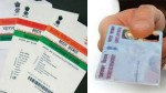 Pan Aadhar Linking Centre Extends Last Date To 2021 June