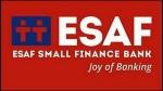 Esaf Small Finance Bank Raised Rs 162 Crore Through Share Sale