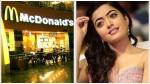 Actress Reshmika Mandana Becomes Indian Brand Ambassador For Mcdonald