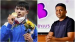 Olympic Gold Medalist Neeraj Chopra Will Get 11 Crore Rupees As Cash Price Byjus Will Give 2 Crore