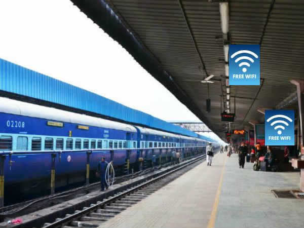 120 ദിവസം കൊണ്ട് 6000 സ്റ്റേഷനുകളിൽ സൗജന്യ വൈ-ഫൈ നല്കാൻ ഒരുങ്ങി ഇന്ത്യൻ റെയിൽവേ