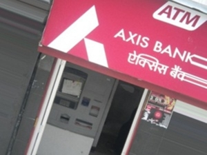 Axis Bank Allows Cardless Cash Withdrawal