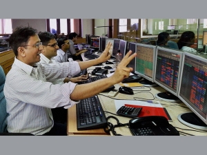 Sensex Closes At New Record Reliance Surges