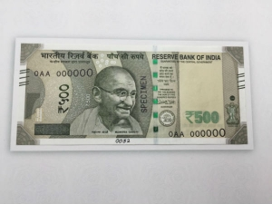 New Rs 500 Note Introduced Old Notes Will Stay Valid