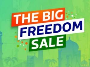 Flipkart Big Freedom Sale Takes On Amazon Kicks Off August