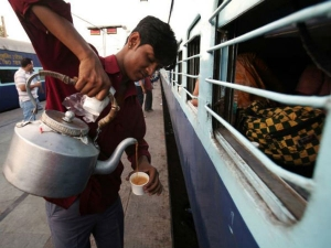 Tea Coffee Served On Trains Cost More