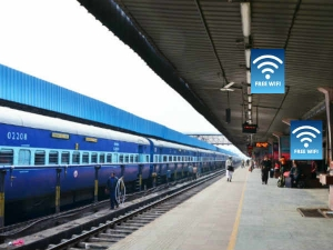 Indian Railways Offer Free Wi Fi At 6000 Stations