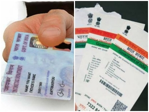 Linking Of Pan Card With Aadhaar
