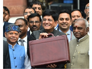 Piyush Goyal Begins Budget On Chest Thumping Note But Fiscal Deficit Sneaks Past 3
