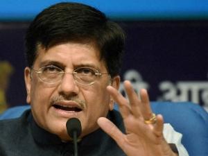 Budget 2019 Facts About Interim Finance Minister Piyush Goya