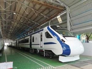Train 18 Be Introduced On M Luru B Luru Route Goyal