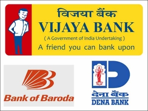 Vijaya Bank Dena Bank Merge With Bank Of Baroda