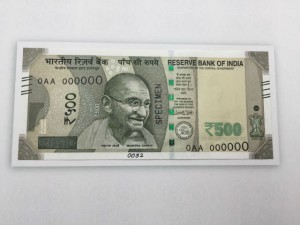 Printing Cost New 500 2000 Notes