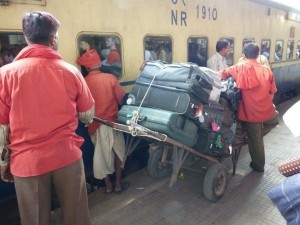 Now Train Passengers Pay Penalty Carrying Excess Luggage