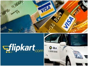 Credit Cards From Ola And Flipkart