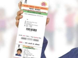 Deactivation Of Aadhaar Card