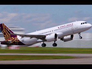 Vistara Flight Reduce Plastic Bottle Usage