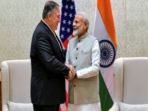 Modi Mike Pompeo Meeting Held