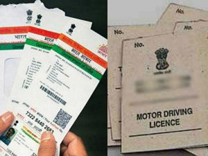 Government Stops Verification Process Using Aadhaar For Driving License