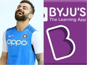 Virat Kohlis Team India To Have New Shirt Sponsors Byjus To Replace Oppo
