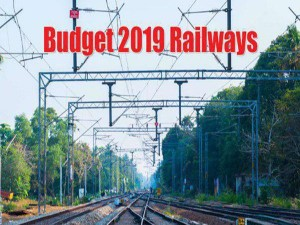 Budget 2019 Railway Sector Estimations Here