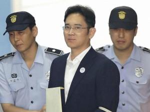 Samsung Heir Lee Jae Yong In India