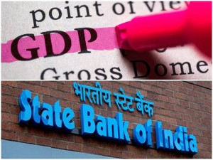 Sbi Calculation About Gdp Growth Rate In India