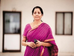 Finance Minister Nirmala Sitharaman One Of The Worlds 100 Most Powerful Women In