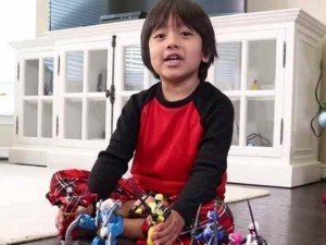 This Eight Year Old Is The Highest Paid Youtuber