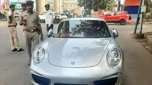 Porsche Car Owner Fined Rs 27 Lakh