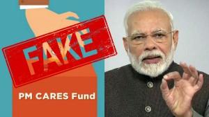 Fake Upi Id Beware Contributors Of Pm Cares Fund