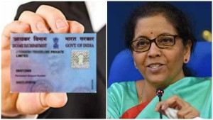 Fm Nirmala Sitharaman Launches Scheme For Instant Allotment Of Pan